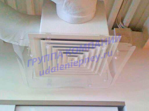 экран для вентиляционной решетки диффузора