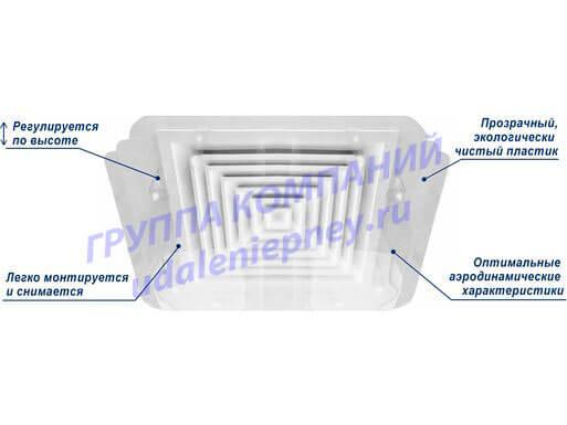 дефлектор для вентиляционной решетки