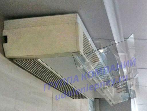 экран для кондиционера из оргстекла